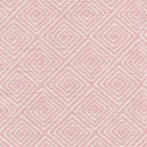 Stoff mit Rauten-Muster SA705 hellrosa