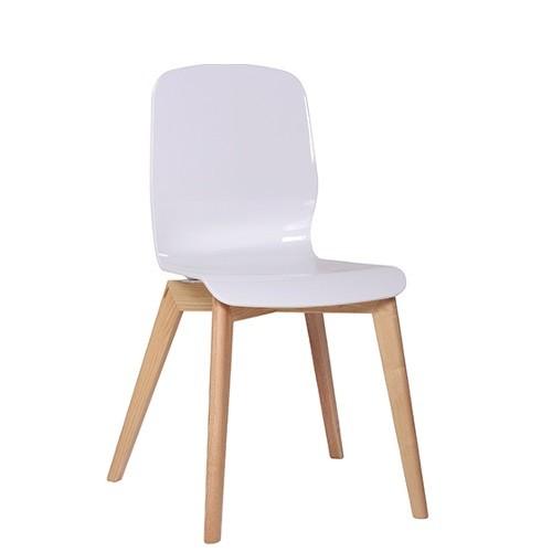 Stuhl GLAMOUR W in weiß