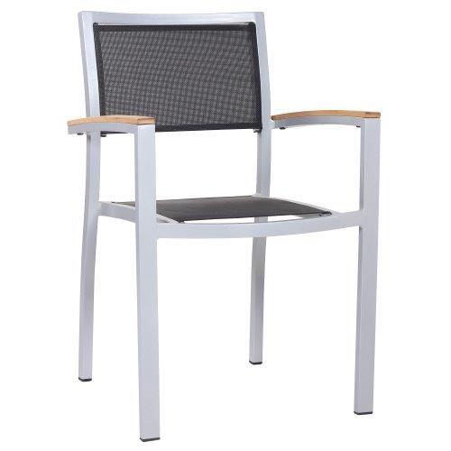 Stuhl mit Armlehnen TIMOR T - stapelbar