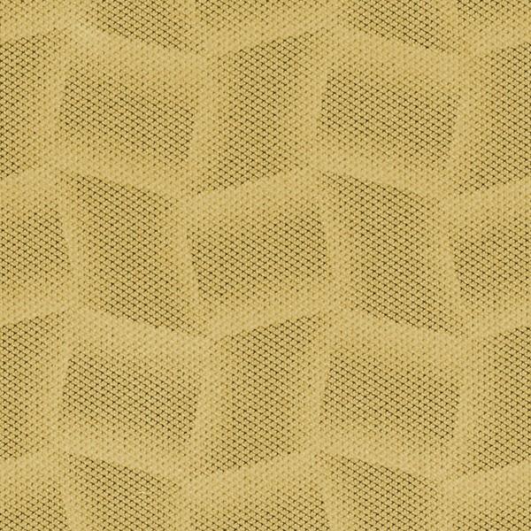 Mikrofaser-Stoff mit attraktiven geometrischen Mustern gelb