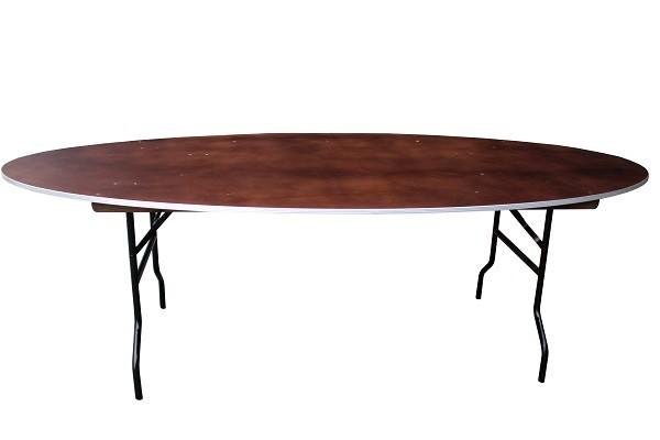 klappbarer ovaler Bankett-Tisch MO