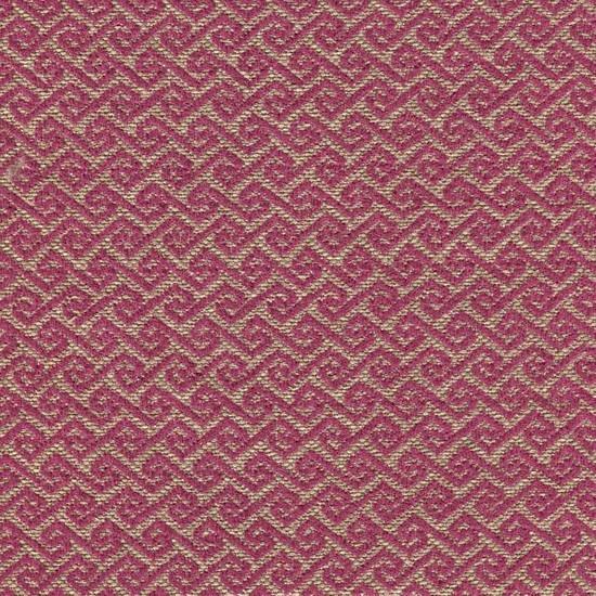 Möbelstoff MAYA53 bordeaux-violett mit trendigem Rauten-Muster