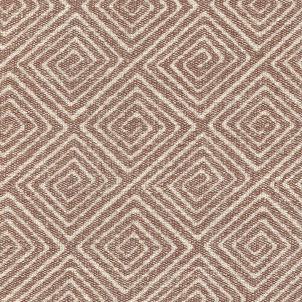 Stoff mit Rauten-Muster SA706 hellbraun