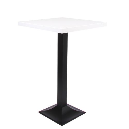 Dekor-Tischplatte MDF 44 mm stark, 70 x 70 cm weiß