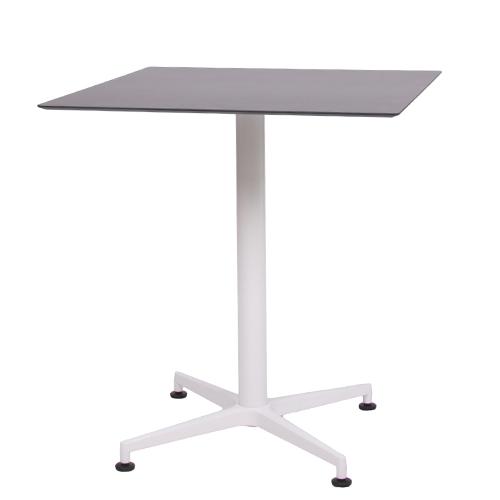 HPL-Kompakt-Tischplatte schwarz, 69 x 69 cm