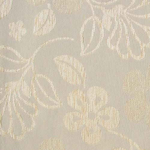 Stoff mit Blumen-Muster GL1 beige
