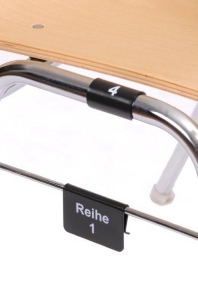 Stuhlreihen-Nummerierung
