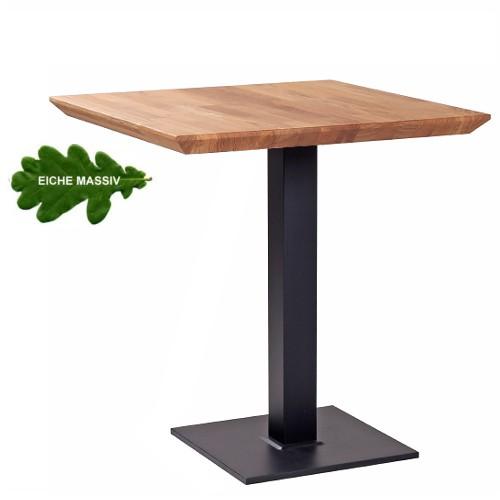 Bistrotisch PADUA mit Tischplatte aus Eiche massiv