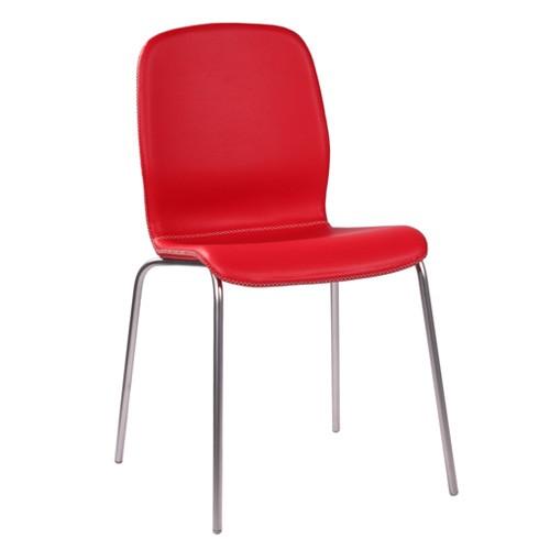 Designer-Stuhl GLAMOUR UP stapelbar