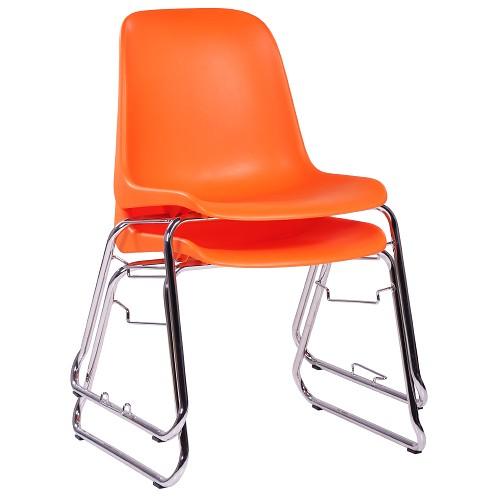 Stapelstuhl PAULA - Kunststoffstuhl mit Kufengestell